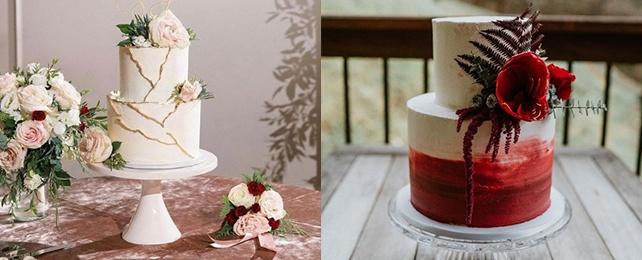 Top 90 Best 2-Tier Wedding Cake Designs – Double Delicious Cakes