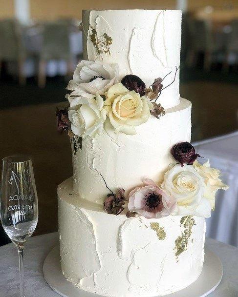 3 Tier Wedding Womens Cake