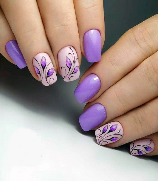 Best Purple Nails Ideas