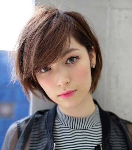 Brown Short Hair Color