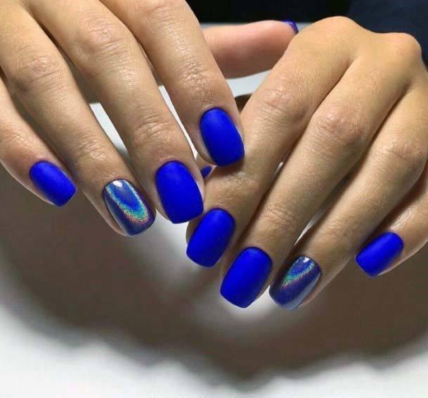 Modern Blue Color Nail Polish For Women