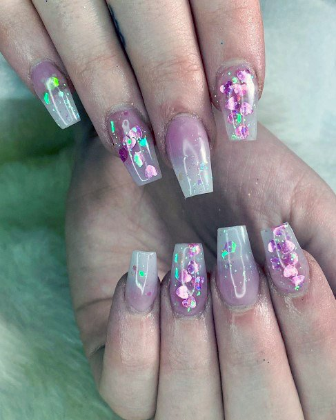Ablaze Iridescent Nails Women