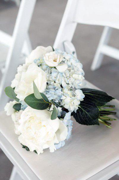 Ablaze White Hydrangea Wedding Flowers