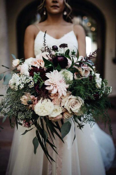 Abundant Flowers November Wedding