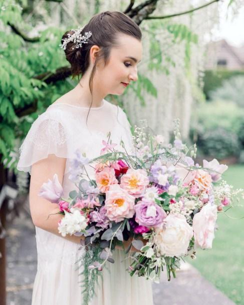 Abundant May Flower Wedding Bouquet