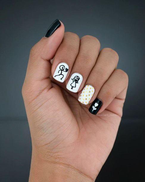 Adorable Romantic Nails Women