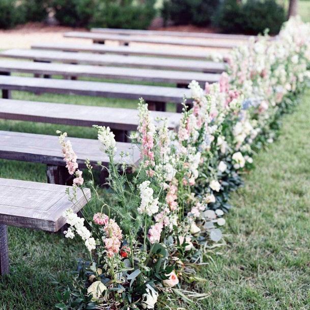Aisle Decor May Wedding Flower
