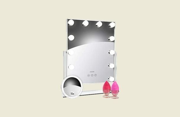 Albor Makeup Vanity Mirror With Lights Makeup Mirror For Women