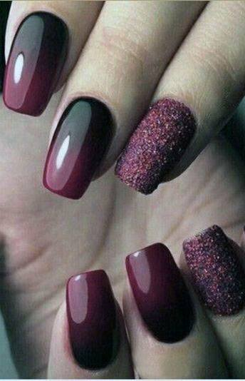 Alluring Black And Red Sugar Nails For Women