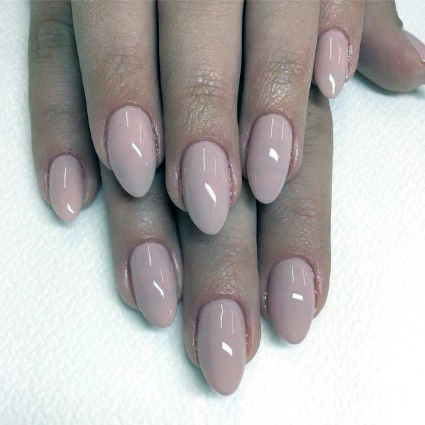Almond Shaped Natural Nail Ideas For Women