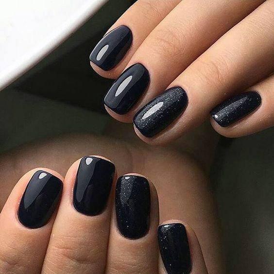 Amazing Black Nail Designs Women