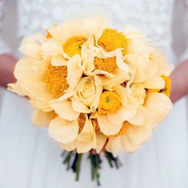 Amazing Yellow Wedding Flowers