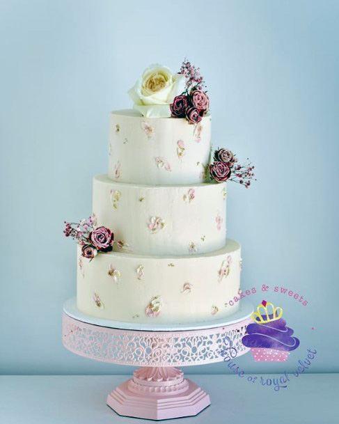 Amethyst 3 Tier Wedding Cake Women