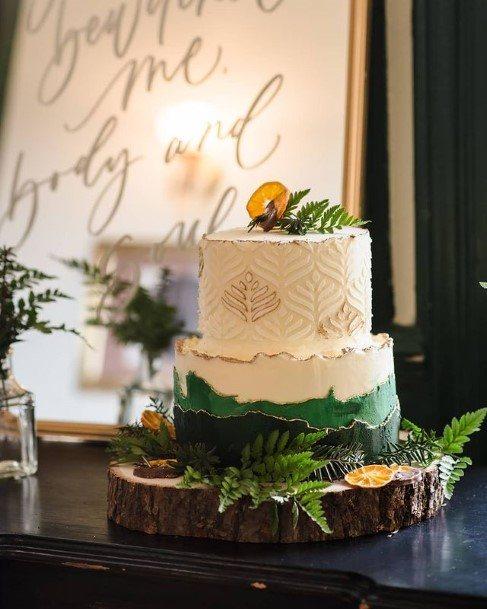 Appetizing Buttercream Wedding Cake