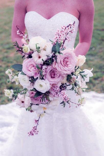 Aromatic Pink Blush Rose Flowers Wedding