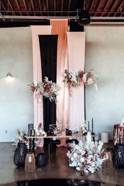 Artistic Blush Wedding Flowers