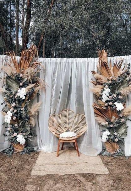 Artistic Boho Wedding Large Decorations Flowers