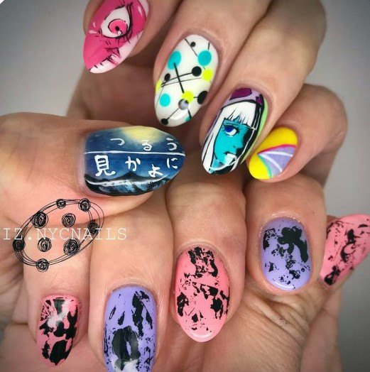 Artistic Colorful Nail Ideas For Women