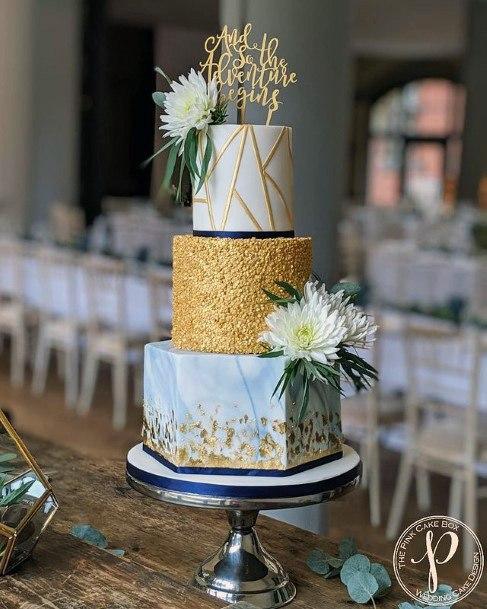 Artistic Elegant Wedding Cake Women