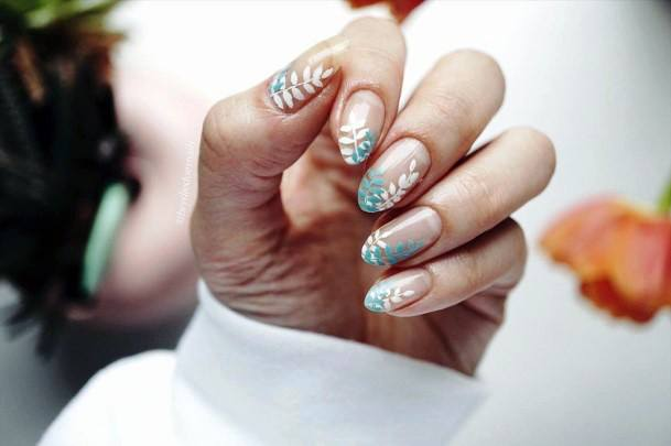 Artistic Natural Nail Ideas For Women