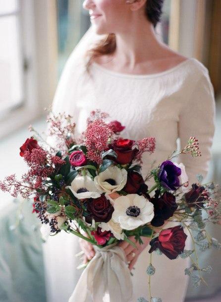 Awesome Christmas Wedding Flowers