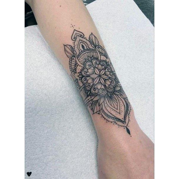 Awesome Tattoo Womens Wrist