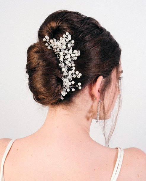 Babys Breath Wedding Style French Twist And A Bun For Teenage Girls And Women