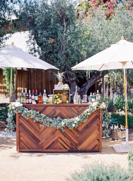 Backyard Wedding Ideas Outdoor Cocktail Bar