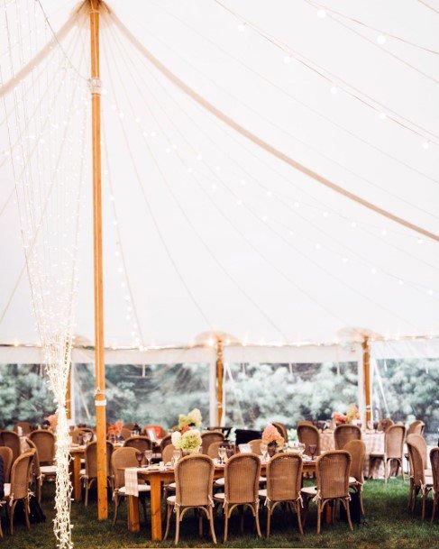 Backyard Wedding Ideas Party Tent