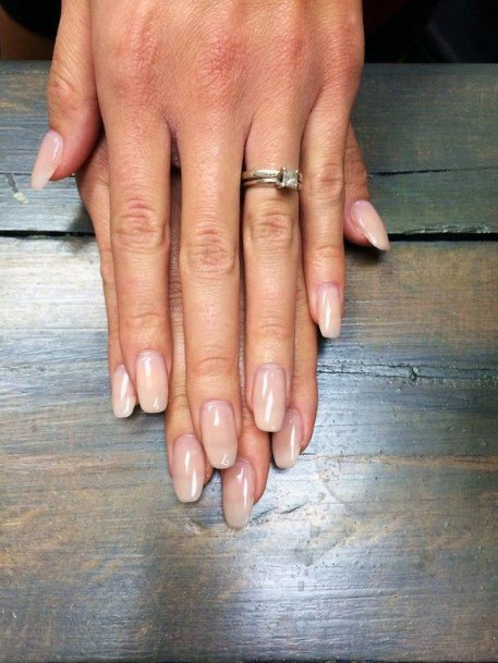 Bare Natural Nail Ideas For Women
