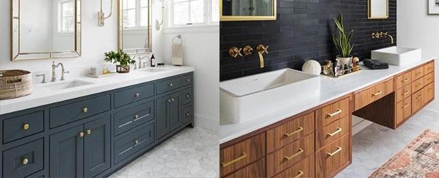 Top 90 Best Bathroom Cabinet Ideas – Chic Storage and Vanity Designs