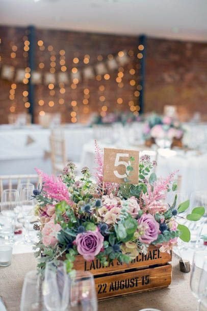 Beautiful August Wedding Flowers