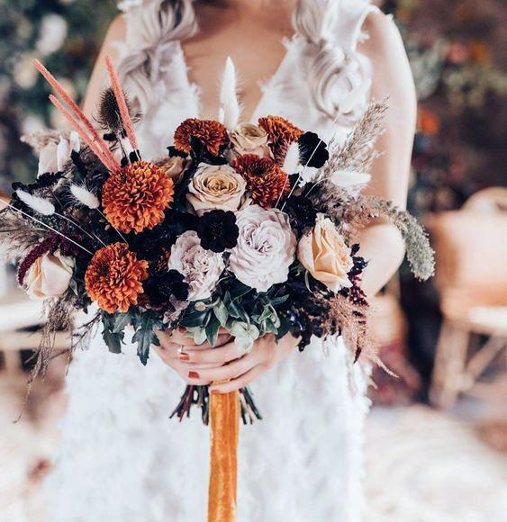 Beautiful Bouquet November Wedding Flowers