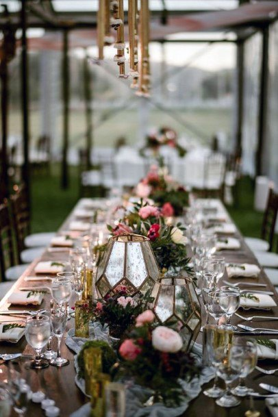 Beautiful Indian Wedding Table Decor Flowers