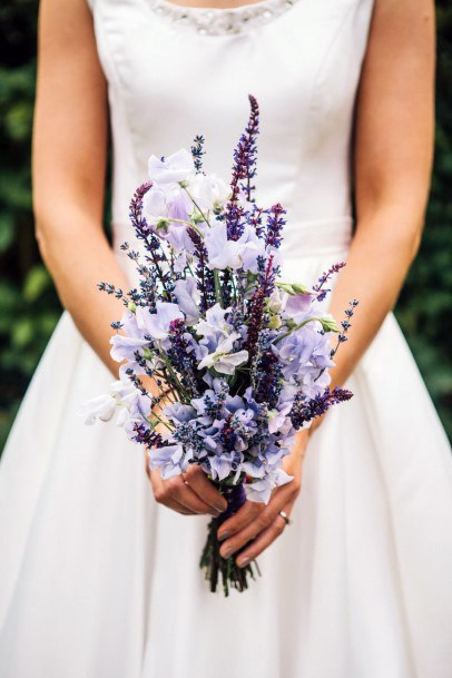 Beautiful Lavender Wedding Flowers