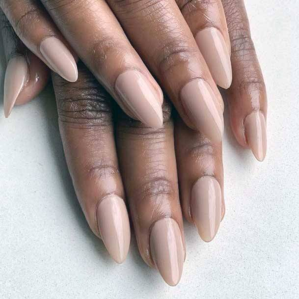 Beautiful Nude Pink Nail Color