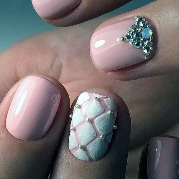 Bejewelled Sugared Nails Women