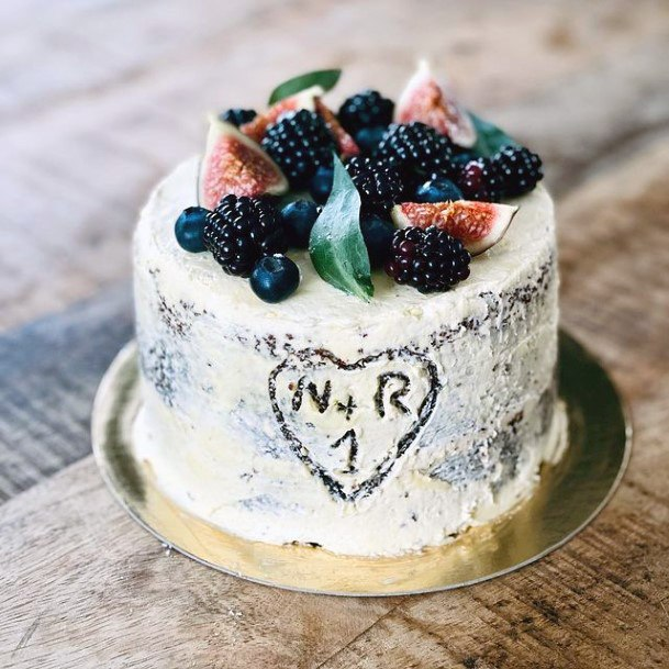 Berrilicious Red Velvet Wedding Cake