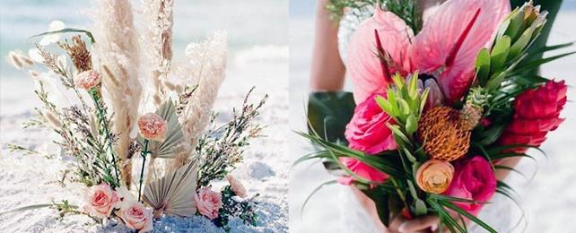 Top 70 Best Beach Wedding Flower Designs – Tropical Floral Ideas