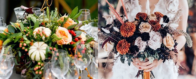 Top 60 Best November Wedding Flower Ideas – Autumn Floral Designs