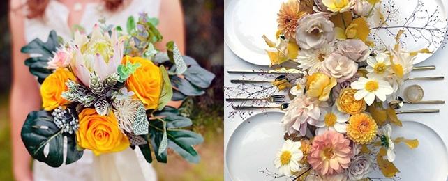 Top 50 Best Yellow Wedding Flower Designs – Bright Amarillo Floral Ideas