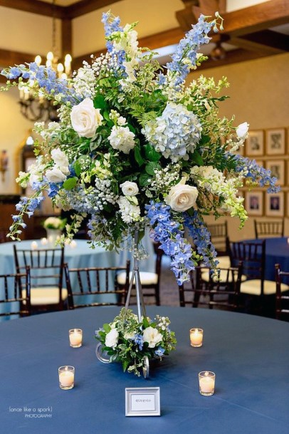 Blast Of Hydrangea Flowers Wedding