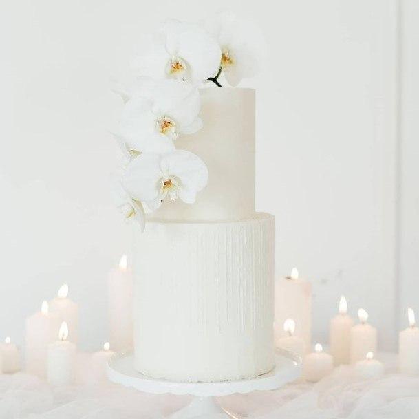 Bleach White Wedding Cake Exotic