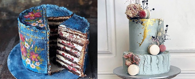 Top 80 Best Blue Wedding Cake Designs – Brilliant Blue Icing Ideas