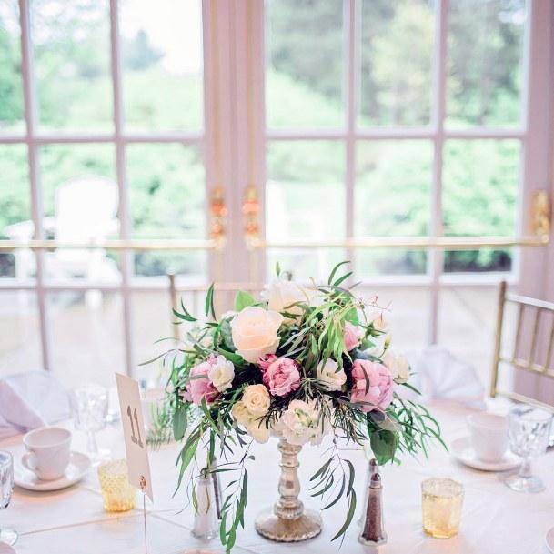 Blushing May Wedding Flowers