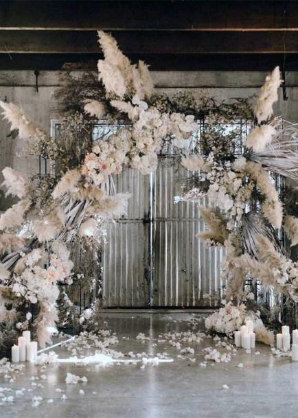 Boho Wedding Flowers Arch