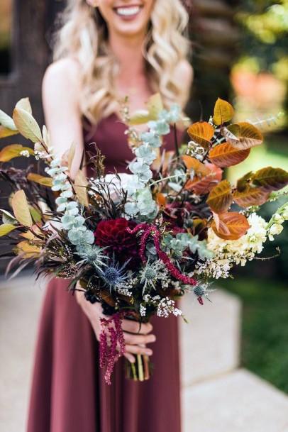 Boho Wedding Flowers Bouquet