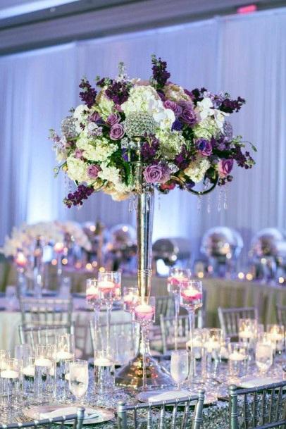 Bountiful Vase Table Decor Indian Wedding Flowers