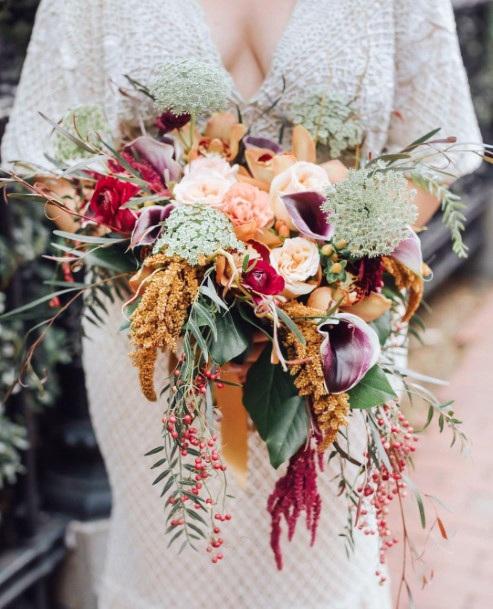 Bouquet Of Hawaiian Wedding Flowers