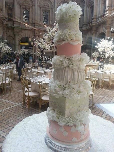 Box Wedding Cake Ideas